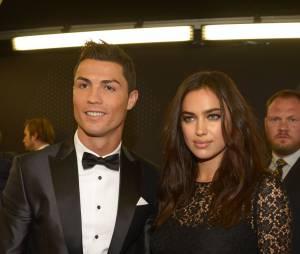 Cristiano Ronaldo et Irina Shayk en couple à la cérémonie du Ballon d'or 2013
