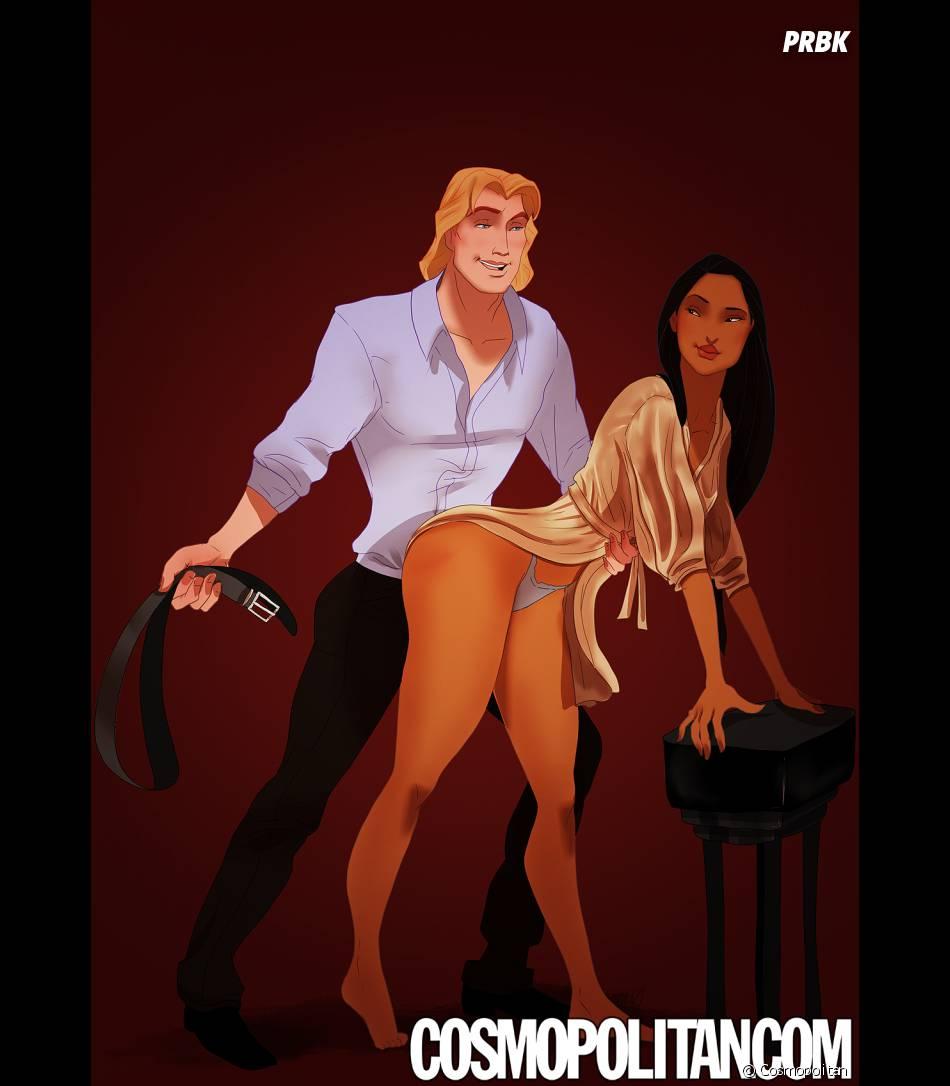 Fifty Shades of Grey : John Smith et Pocahontas (Pocahontas) rejouent une scène du roman roman