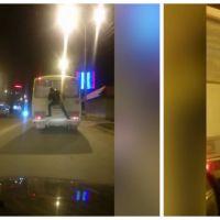 Ce que cet homme fait pour ne pas payer le bus est complètement inconscient !