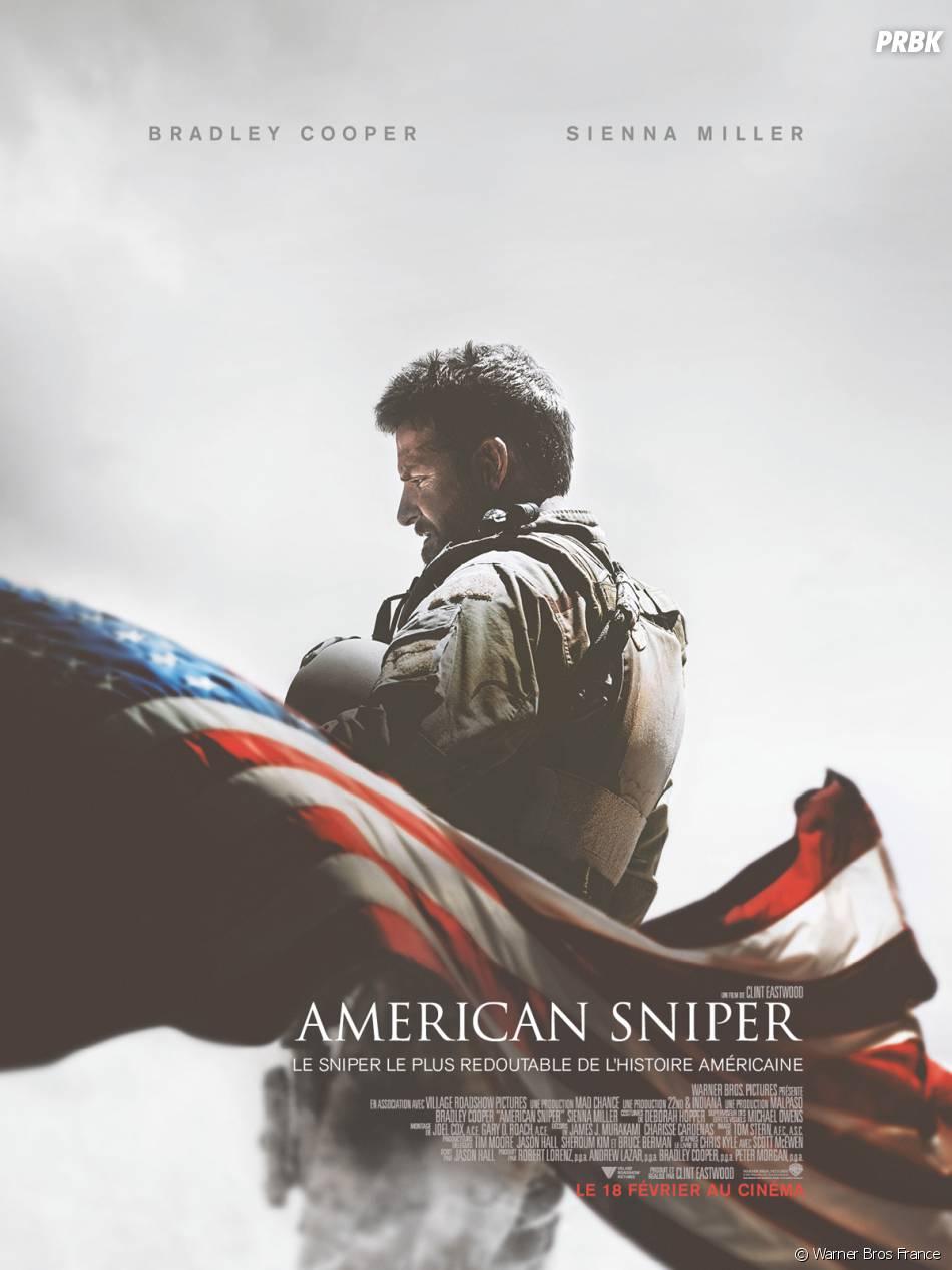 American Sniper : l'affiche du film avec Bradley Cooper