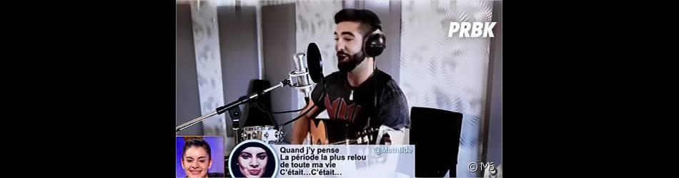 Kendji Girac chante des tweets dans Tout Peut Arriver sur M6, le 11 février 2015