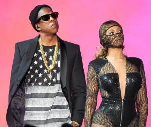 Beyoncé et Jay Z en couple sur la scène du Stade de France en 2014