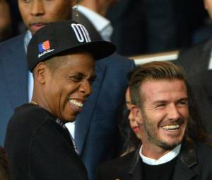 Jay Z et David Beckham : rires dans les tribunes du Parc des Princes pour PSG vs FC Barcelone