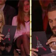 M. Pokora fan des seins et des fesses d'Amanda Lear... dans un sketch