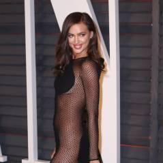 Irina Shayk ultra sexy et transparente pour la soirée Vanity Fair des Oscars 2015