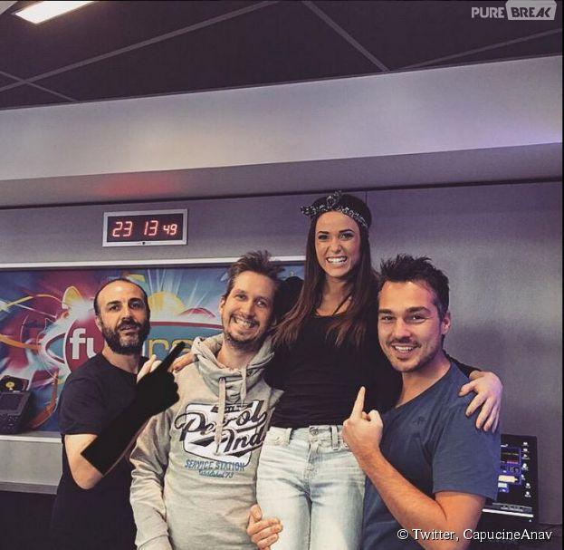 Capucine Anav chroniqueuse sur Fun Radio