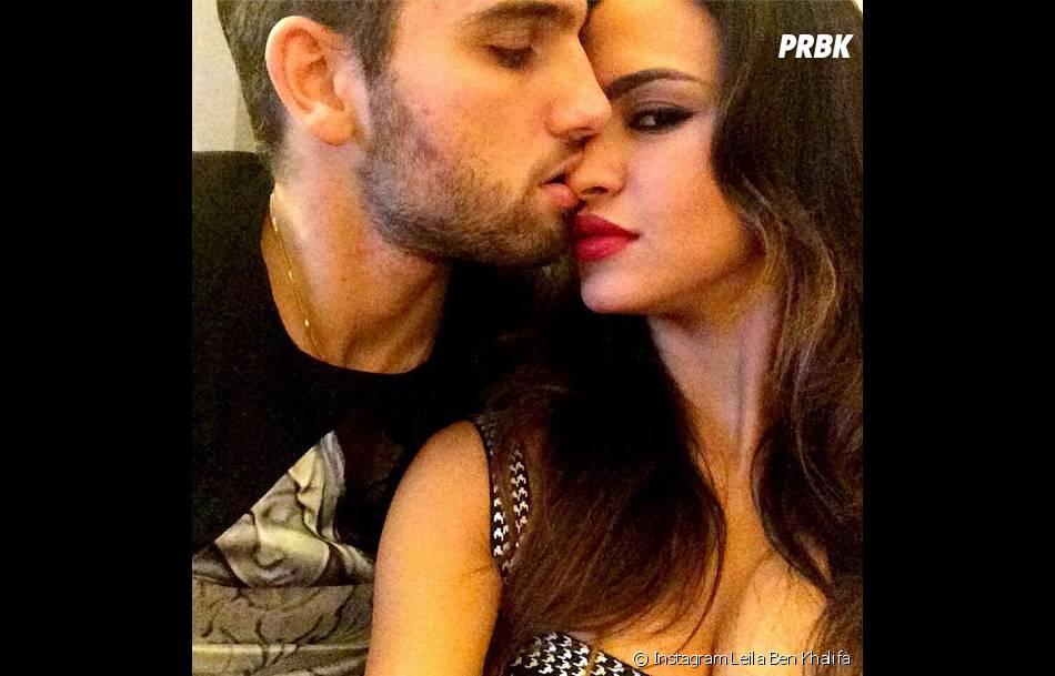 Leila Ben Khalifa et Aymeric Bonnery fous amoureux