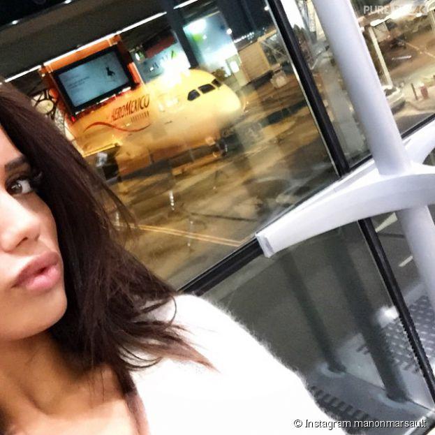 Manon (L'Île des Vérités 3) : un selfie pour annoncer son départ pour le Mexique