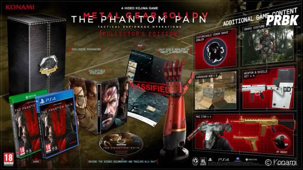 Metal Gear Solid 5 : The Phantom Pain : le collector du jeu
