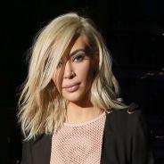 Kim Kardashian à Paris : la bimbo blonde ose la robe résille transparente !