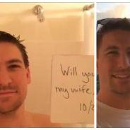 Le rêve : le jour de son anniversaire, il demande sa fiancée en mariage 365 fois  !