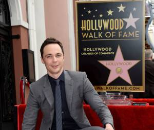 Jim Parsons (Big Bang Theory) inaugure son étoile sur le Walk of Fame d'Hollywood Boulevard, le 11 mars 2015