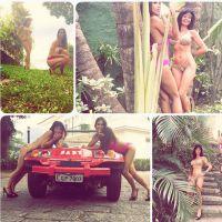Somayeh et Nathalie (Les Anges 7) : petite exhib sexy en bikini sur Instagram