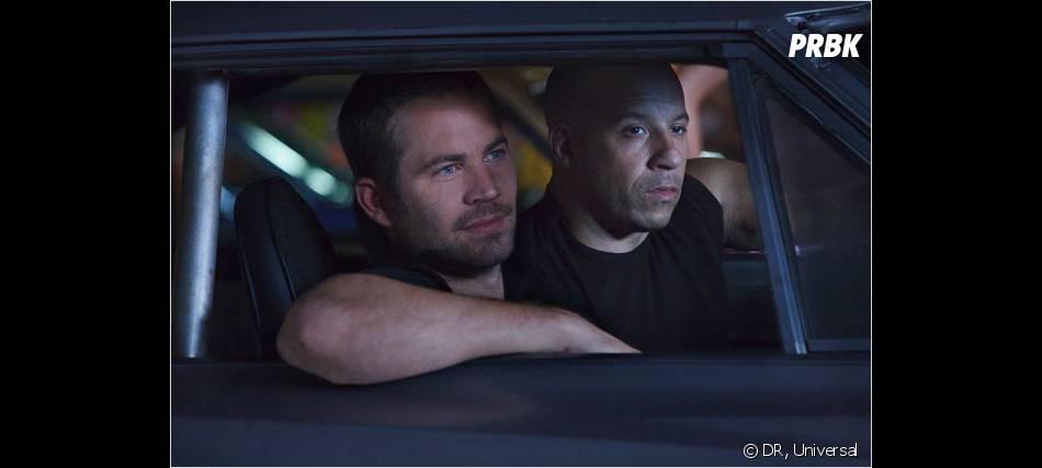 Paul Walker et Vin Diesel dans une image extraite de la saga Fast and Furious