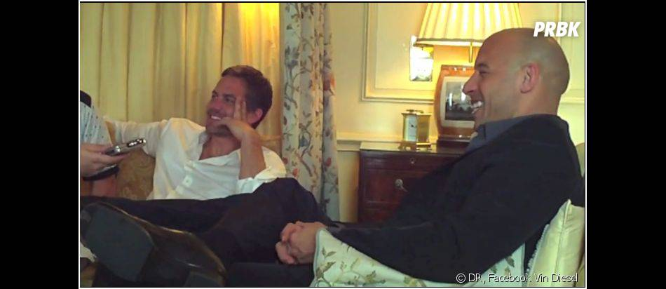 Paul Walker et Vin Diesel étaient très proches depuis le collaboration sur la saga Fast and Furious
