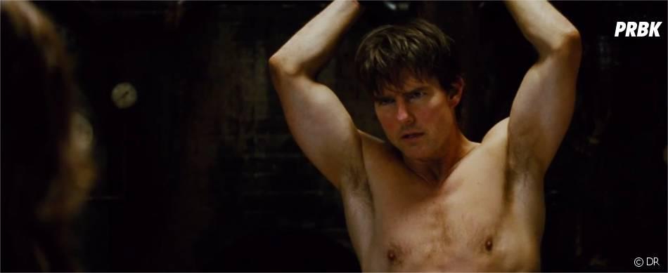 Mission Impossible 5 : Tom Cruise torse-nu dans la bande-annonce