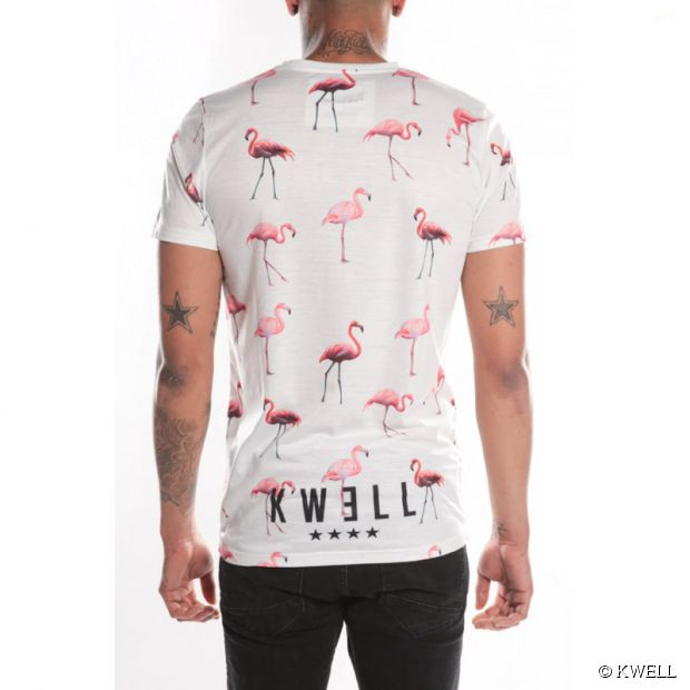 Soprano kwell t shirt flamingo sweat casquette for Sweaty t shirts and human mate choice