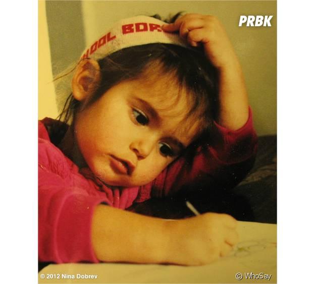 Nina Dobrev enfant