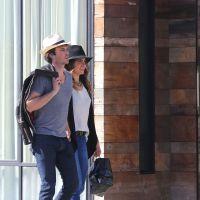 Ian Somerhalder et Nikki Reed plus amoureux que jamais : bisous en public à Los Angeles
