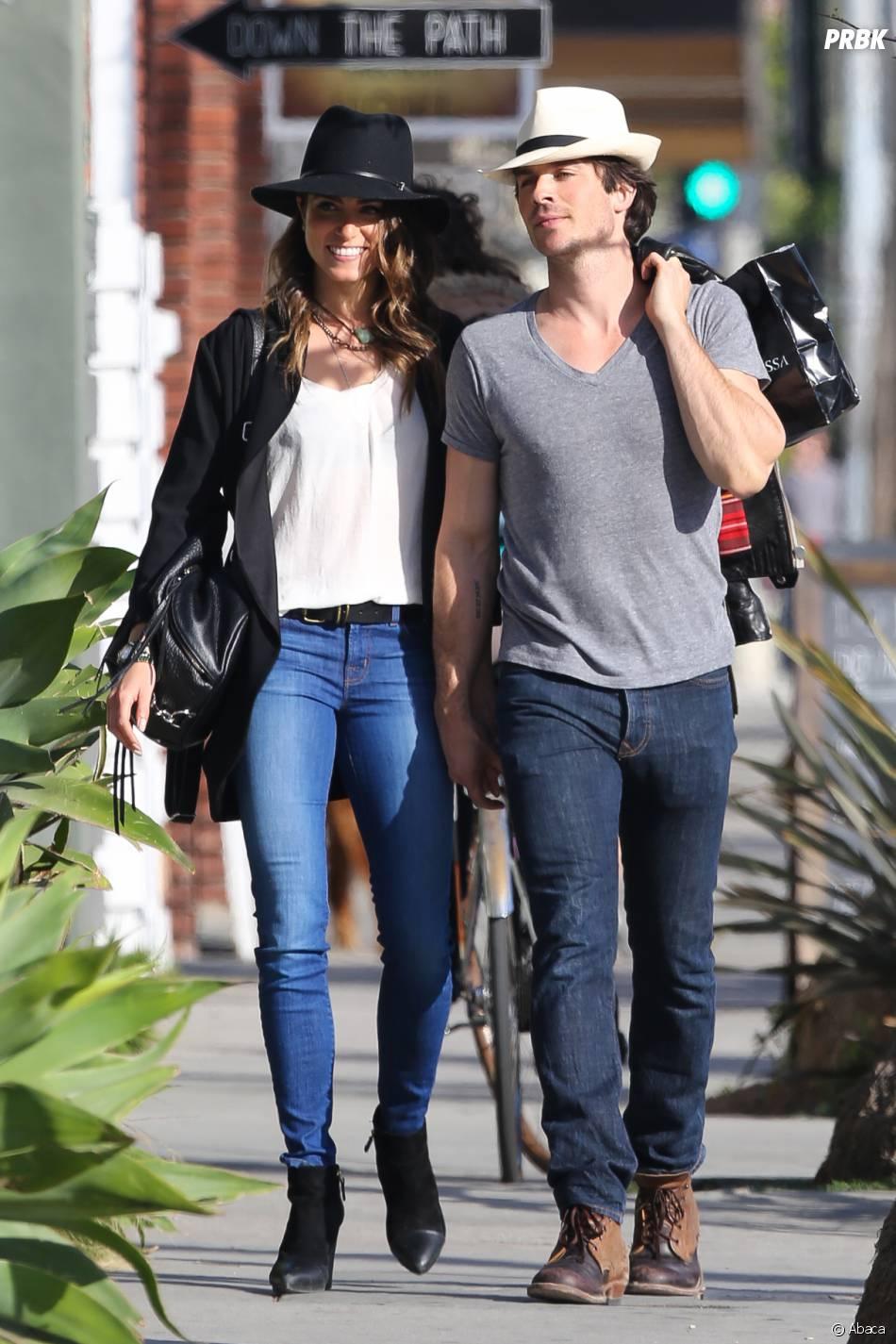 Ian Somerhalder et Nikki Reed amoureux à Los Angeles le 6 avril 2015