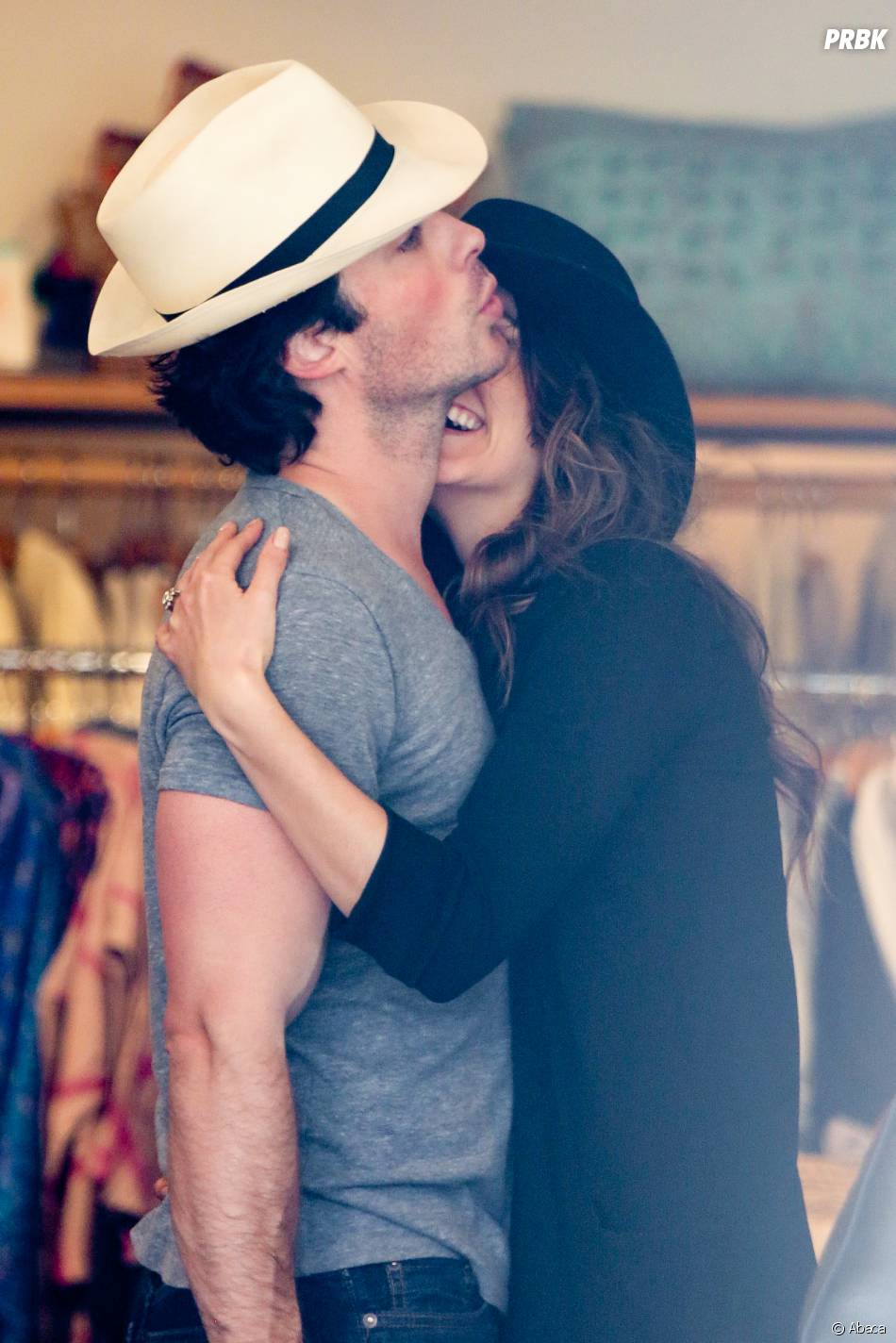 Ian Somerhalder et Nikki Reed complices à Los Angeles le 6 avril 2015
