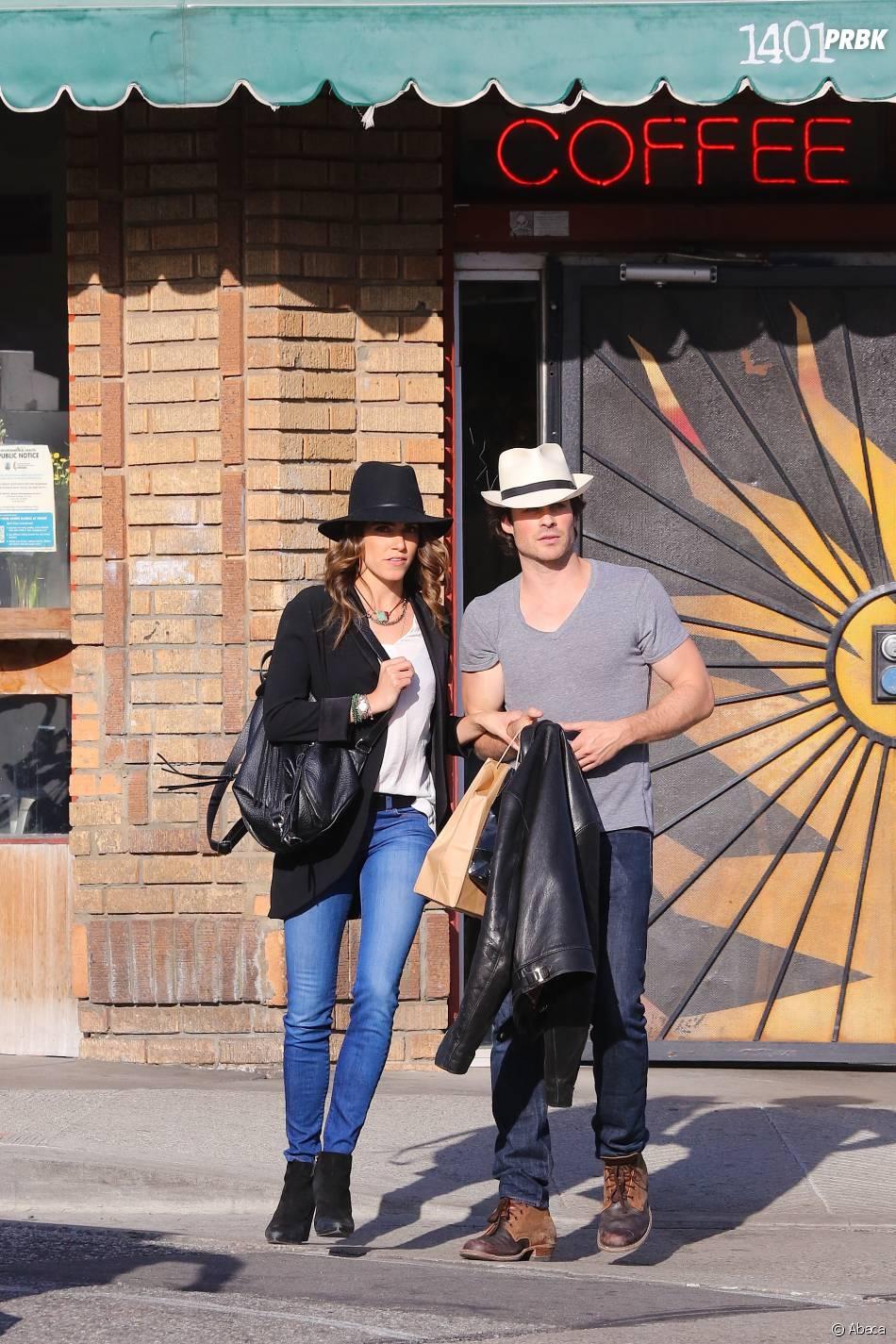 Ian Somerhalder et Nikki Reed : leur balade à Los Angeles le 6 avril 2015
