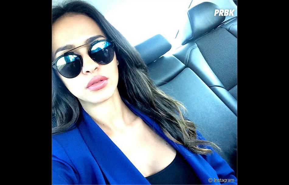 Leila Ben Khalifa accro aux nouvelles lunettes de soleil So Real de Dior,  printemps-été 2015 90704d450c4a