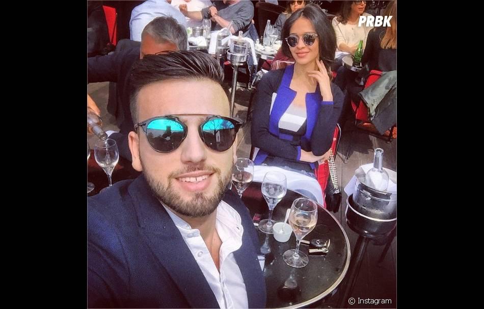 Aymeric Bonnery et Leila Ben Khalifa accro aux nouvelles lunettes de soleil  So Real de Dior, printemps-été 2015 0e9fcd43b7b4