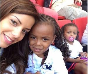 Blaise Matuidi : sa femme Isabelle et ses filles en juin 2014 sur Instagram