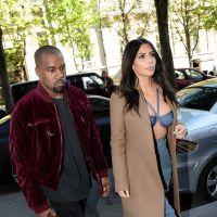 Kim Kardashian sexy à Paris : soutien-gorge de sortie pour une session shopping