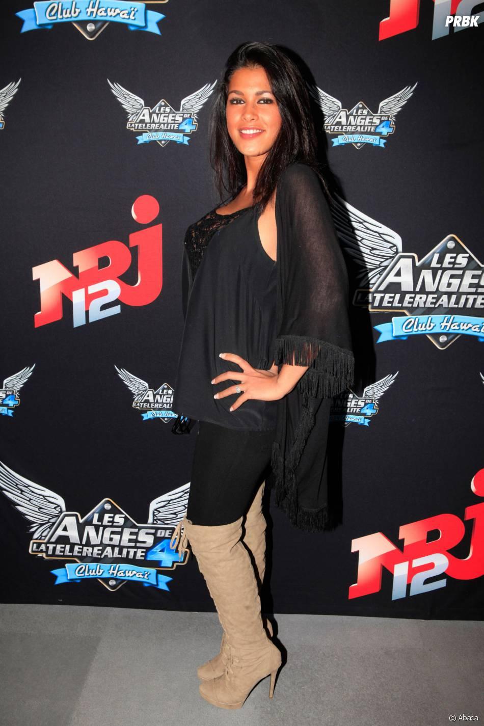 Ayem Nour en 2012 lors de la promotion des Anges 4