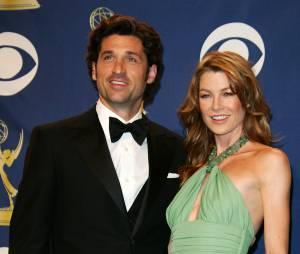 Ellen Pompeo et Patrick Dempsey aux Emmy Awards 2005