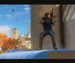 Just Cause 3 : le premier trailer de gamelay