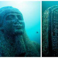 Des archéologues découvrent une cité engloutie au large de l'Egypte, les photos sont superbes