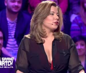 Cindy Lopes taclée par son ex Giuseppe, le 16 mai 2015 sur D8