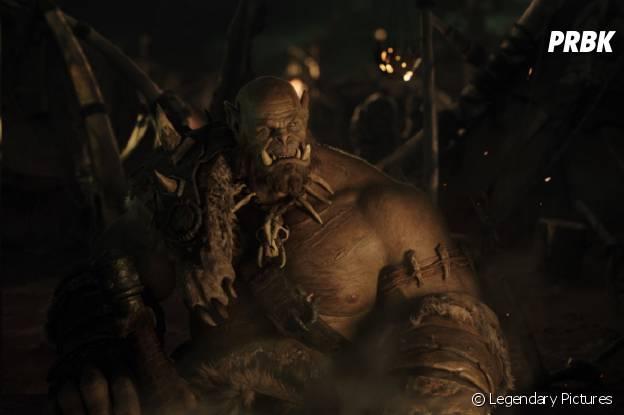 Warcraft : la première image tirée du film avec l'orc Orgrim