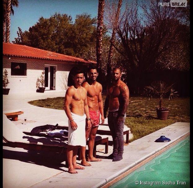 Las Vegas Academy : Sacha Tran, Tony Bredelet et Maxime Seclin sexy sur Instagram