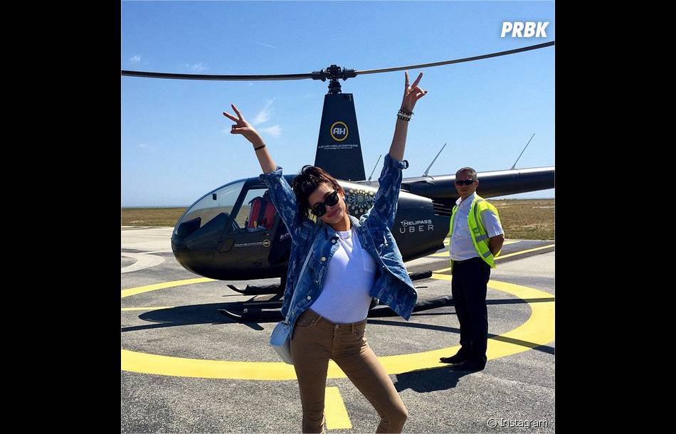 Hailey Baldwin en UberCopter, le moyen de transport so chic du Festival de Cannes 2015