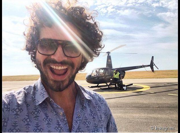 Maxime Musqua en UberCopter, le moyen de transport so chic du Festival de Cannes 2015