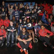 Zlatan Ibrahimovic, Blaise Matuidi, Edinson Cavani... les stars du PSG auprès des enfants malades