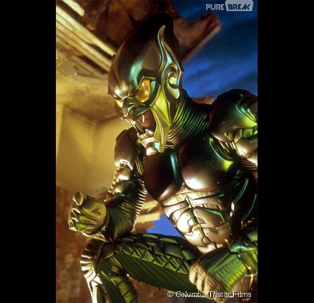 Spider man le bouffon vert dans le premier film de la trilogie de sam raimi - Bouffon vert coloriage ...