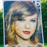 Taylor Swift transformée en LEGO : découvrez sa mosaïque hallucinante réalisée en briques jaunes