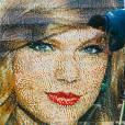Une mosaïque représentant Taylor Swift a été installée dans l'enceinte du parc d'attraction LEGOLAND Windsor, en Angleterre