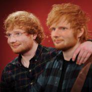 Ed Sheeran déjà fan de sa statue de cire... qui louche