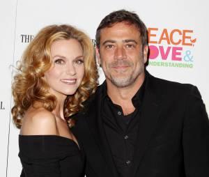 Hilarie Burton et son compagnon Jeffrey Dean Morgan en 2012