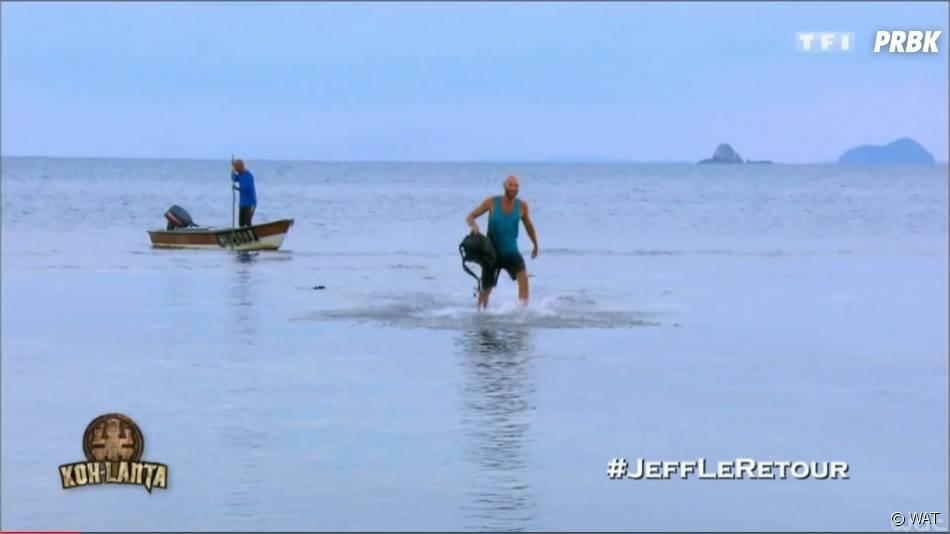 Koh Lanta 2015 : Jeff est revenu sur l'île de l'émission