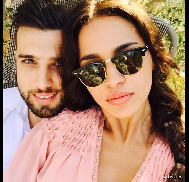 Leila Ben Khalifa et Aymeric Bonnery en amoureux en Tunisie en juin 2015