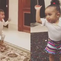 North West VS Royalty : battle de danse entre la fille de Kim Kardashian et celle de Chris Brown