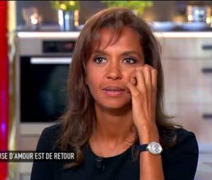 Karine Le Marchand sur le plateau de C à Vous, le 17 juin 2015