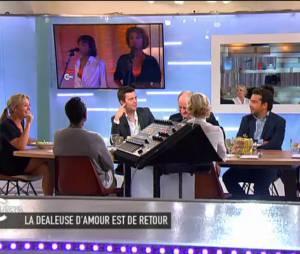 Karine Le Marchand invitée de C à Vous, le 17 juin 2015
